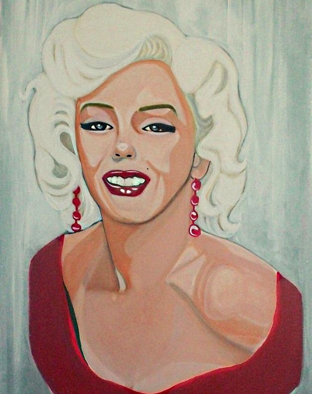 Marilyn Monroe por sellia